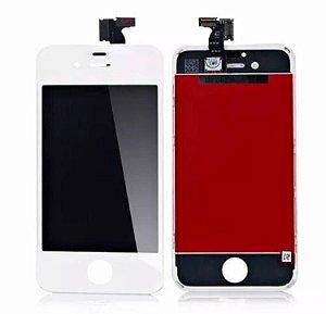 Display Tela LCD Touch Vidro Lente Apple iPhone 4S - Branco