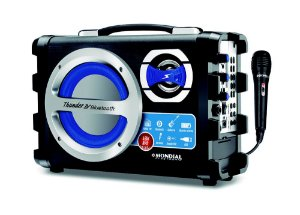 Caixa De Som Amplificada Mondial MCO-04 Bluetooth Usb e Rádio Fm - Bivolt 40W