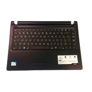 Teclado Notebook Cce Win U25 N325 Original Com Frame