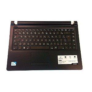 Teclado Notebook CCE U25 Abnt2 com Ç | c/ Topcase | Original