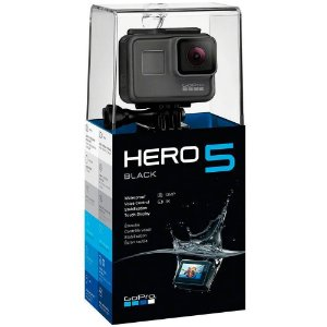 Camera Digital Gopro Hero 5 Black à prova d'água 12.1MP Wi-Fi Gravação 4k Preto