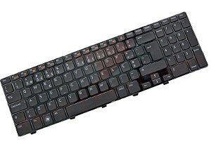 Teclado Notebook Dell Inspiron 15r N5110 06kejr Preto