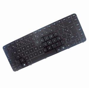 Teclado Compatível Para Hp Sleekbook Sg-57900-40a Ç Preto Novo