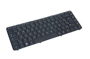 Teclado Notebook Hp 680555-201 | Abnt2 com moldura e Ç