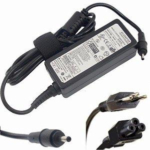 Fonte Carregador Compatível 19v 2.1a 40w Ultrabook Samsung