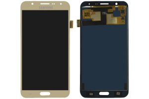 Tela Touch Display LCD Frontal Samsung Galaxy J7 J700 Dourado - Original