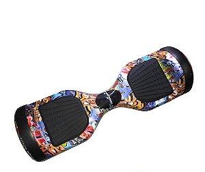 Hoverboard Smart Balance Scooter Skate Bateria Samsung Bivolt - Graffiti