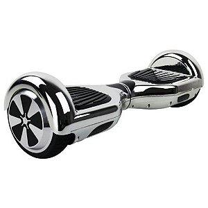 Hoverboard Smart Balance Scooter Skate Bateria Samsung Bivolt - Prata