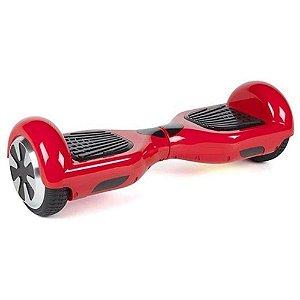 Hoverboard Smart Balance Scooter Skate Bateria Samsung Bivolt - Vermelho