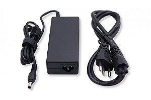 Fonte Compatível Carregador P/ Notebook Samsung Rv411 Rv415 + Cabo