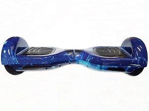 Hoverboard Smart Balance Scooter Skate Bateria Samsung Bivolt - Estampa Espaço