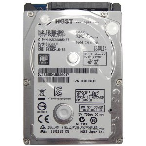HD Hitachi 500GB HGST Slim 7mm Sata 3.0gb/s 5400rpm - Ultrabook Notebook 2,5""