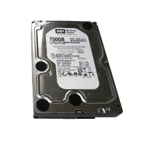 HD 750GB WD7501AALS Western Digital 7200 RPM 32 MB Cache SATA - DESKTOP PC