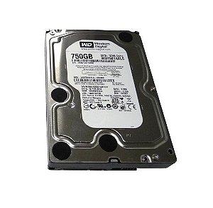 HD 750GB WD7501AALS Western Digital 7200 RPM 32 MB Cache SATA - DESKTOP PC