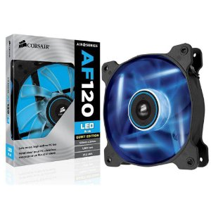 Fan Gabinete Air Series AF120 Azul 120x25mm CO-9050015-BLED - Corsair