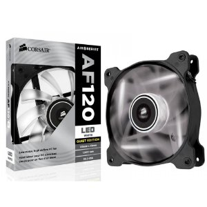 Cooler Para Gabinete Corsair AIR AF120 Led Branco CO-9050015-WLED