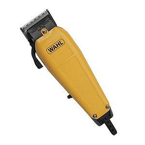 Máquina De Corte Wahl Home Pro Classic 17 Peças 09243-123 - 110V Amarelo