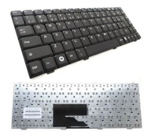 Teclado Compatível Notebook Itautec W7635 | Abnt2 Com Ç