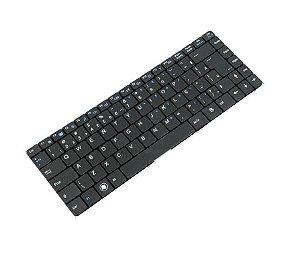 Teclado Notebook Itautec W7425 Abnt2 com Ç preto