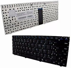 Teclado Itautec W7535 W7545 A7520 Abnt2 Com Ç Original Preto