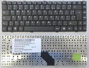 Teclado Compatível Dell Inspiron Intelbras V020602bk1 Pk1301s01b0 Abnt2