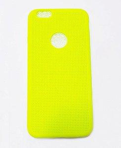 Capa Case Silicone Para Iphone 6S e Iphone 6 - Amarelo