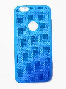 Capa Case Silicone Para Iphone 6S e Iphone 6 - Azul