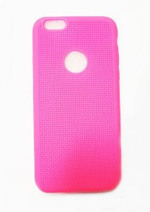 Capa Case Silicone Para Iphone 6S e Iphone 6 - Pink