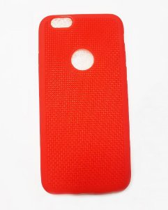 Capa Case Silicone Para Iphone 6S e Iphone 6 - Vermelho