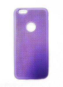 Capa Case Silicone Para Iphone 6S e Iphone 6 - Roxo