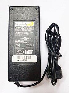 Fonte Original P/ Impressora Bematech MP-7000 Fi 24v 2a Plug 3 Pinos