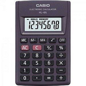Calculadora Ultraportátil 8 Dígitos Hl-4A - Casio
