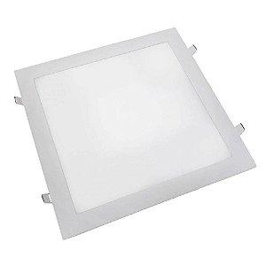 Plafon Painel Led Embutir Quadrada 36W 4000K Branco Neutro MP2128 | MB Led - Branco - Bivolt