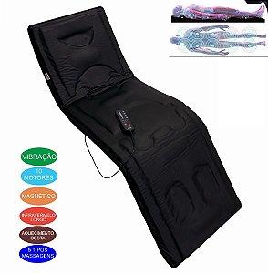 Esteira Colchao Massagem Para Sofa Cadeira Cama 10 Motores
