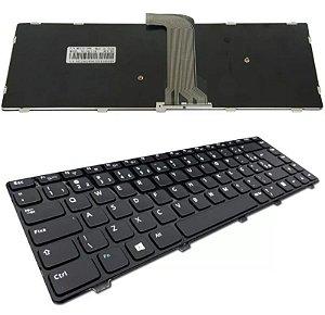 Teclado Compatível Notebook Dell Inspiron 3421 Nsk-l90sw P/n: 9z.n8vsw.001 Abnt2
