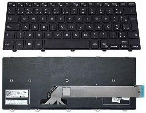 Teclado Notebook Dell Inspiron | 14 Série 3000 ( 3442 ) Br V147125ar1 - Compatível