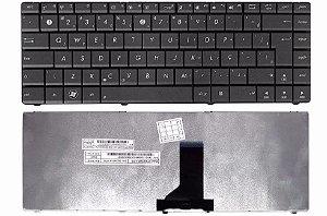 Teclado Notebook Asus K43u ABNT com Ç  - Compatível