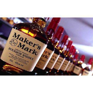 Whisky Makers Mark Bourbon Kentucky Straight Whisky Handmade 750ml - Kit 03 Un.