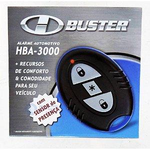 Alarme Automotivo H-Buster HBA-3000 Com 2 Controles 1 Sensor de Presença