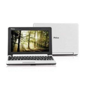 Netbook Philco 10C-B123LM Intel Atom D2500 1.86GHz 2048MB 320GB Linux - Branco