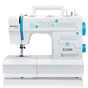 Máquina de Costura Elgin JX4035 Genius Plus 31 Pontos Moderna - 110V