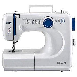 Máquina de Costura Elgin Modelo Genius JX-4000 Portátil - 110V