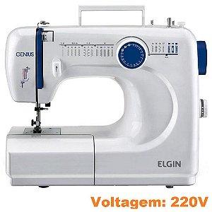 Máquina de Costura Elgin Modelo Genius JX-4000 Portátil - 220V