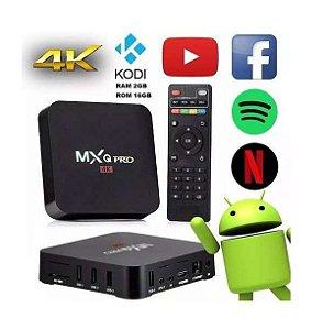 Aparelho Para Transformar TV Em Smart TV Box 4k Ultra HD Com Android 7.1