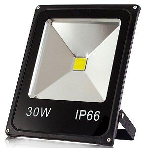 Refletor 30W Led Bivolt IP66 6000k Branco Frio - NBW