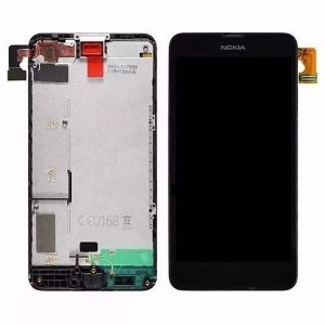 Tela Touch Display Lcd Frontal Nokia Lumia N635