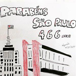 Ilustração - São Paulo - 466 anos