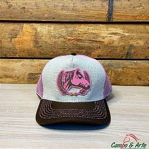 Boné Cavalo Crioulo Girl - Texano´s