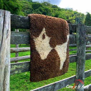 Pelego Duplo Classe A Lã Socada 101x68cm