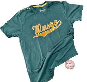 Camisa Esporte Baseball Logo Musgo Verde